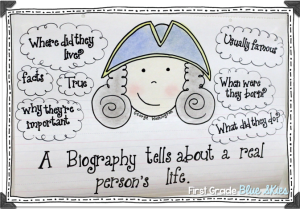 Teaching Biography Writing