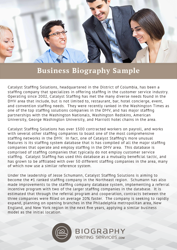 Biography writing services - Buy research proposal uk