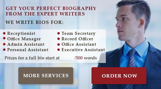 Good Executive Assistant Biography Samples