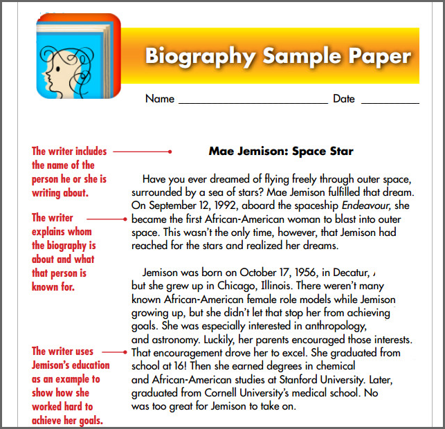 Space explorer biography