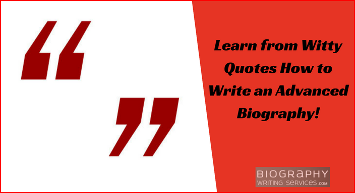 best quotes for a bio