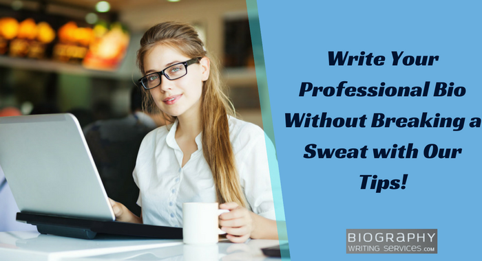 how to write a personal bio on yourself tricks