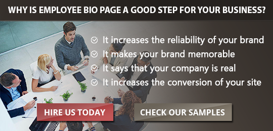 Create an Ideal New Employee Biography for Your Hires!