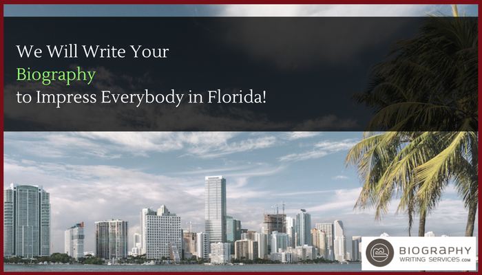 florida biography services