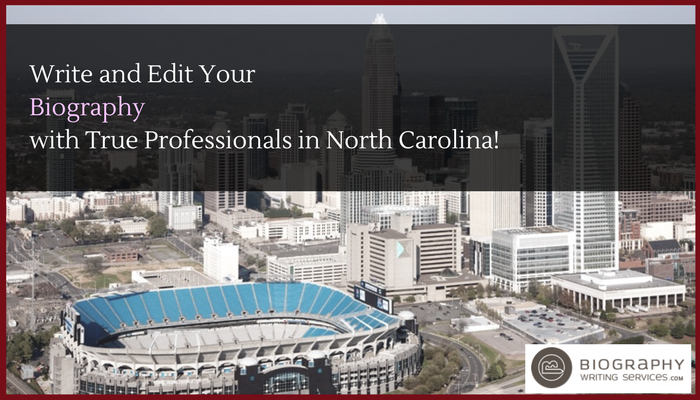 north carolina bio writer service