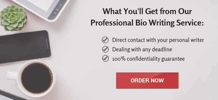 ceo bio writing service