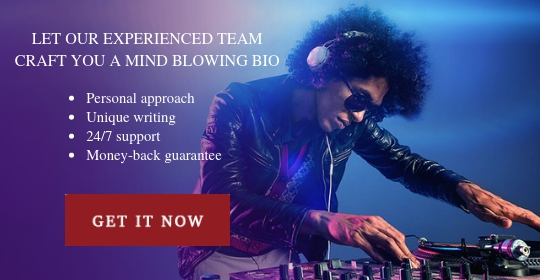 dj bio writing
